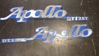 Наклейка шильдик для скутера мото Apollo DT125T