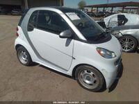 Smart Fortwo 451 1.0 06/2014 бело-серый