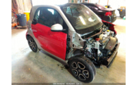 Smart Fortwo 453 Electric Drive Cabrio 06/2018 красно-белый