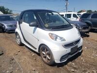Smart Fortwo 451 1.0 06/2014 бело-черный
