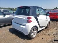 Smart Fortwo 451 1.0 06/2014 бело-черный в пути