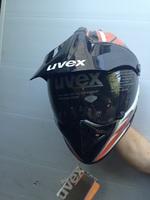 Мото шлем эндуро кроссовый со стеклом UVEX XS
