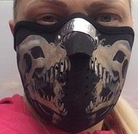 Мото маска маска для мото лицо