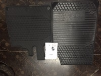 Коврики резиновые комплект Smart 450 не оригинал