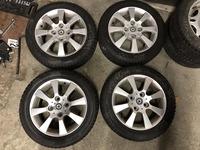 Литые диски R15 с зимней резиной Continental TS 790 185/55 Smart Forfour 454