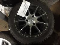 Литые диски Brabus с зимней резиной 185/55 R15 Smart 451