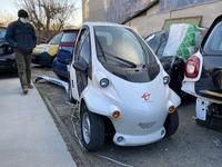 Smart Fortwo Electric Drive 451 2014 белый с черной капсулой