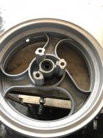 Диск колесный передний 3.50 R12 для скутера мопеда