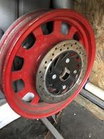 Диск колесный передний под дисковый тормоз на 4 болта Defiant 200см