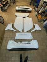 Полный комплект навесных деталей Smart Fortwo 453 белый