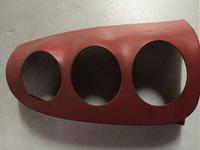 Накладка задней фары правая красная Smart 450