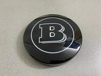 Логотип значок в решетку Brabus Smart 453