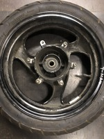 Диск передний дисковый тормоз 3.50-14 Yamaha T-Max