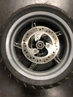 Диск колесный передний под дисковый тормоз 3.50-13