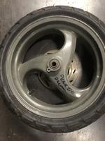 Диск передний под дисковый тормоз 3.50-13 Piaggio Energy