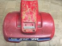 Пластик квадроцикл красный