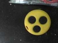 Корпус ключа цветной желтый Smart 450