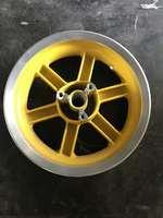 Диск колесный передний для скутера под дисковый тормоз 3.50-R12