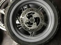 Диск колесный с тормозным диском