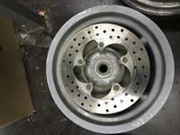 Диск колесный задний под дисковый тормоз 5 болтов
