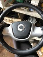 Руль кожаный с подушкой безопасности Европа Smart 451