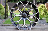 Литые диски R16 Smart Fortwo 451 полированные черные